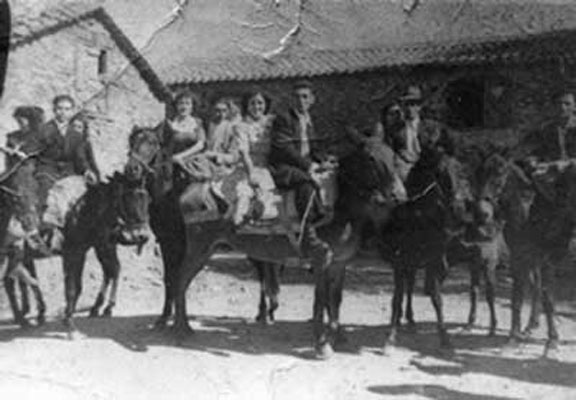 Fotos antiguas Valle del Jerte. Boda