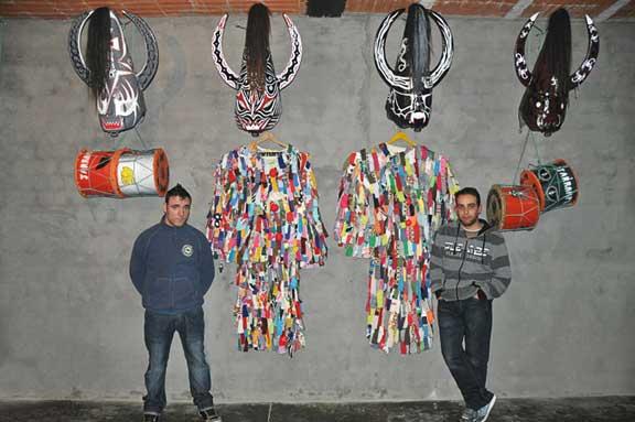 Los Jarramplas Piornal Cáceres 2013