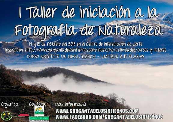 Taller de fotografia en el Valle del Jerte