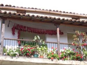 Foto de casa y balcón de jaraiz de la vera