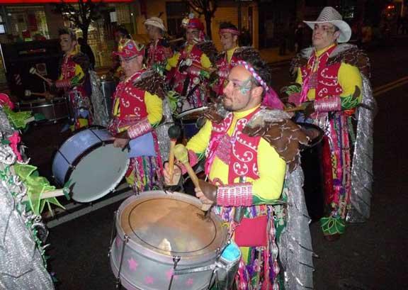 Desfile nocturno Badajoz Carnaval 2013