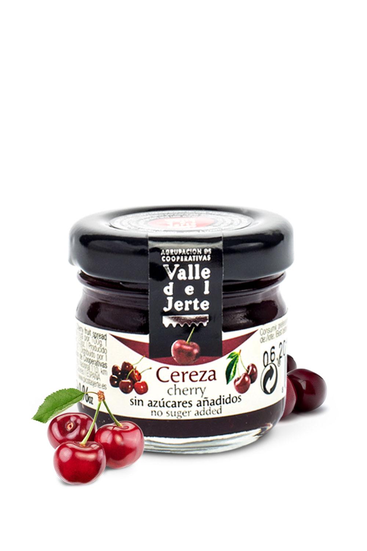 mermelada de cereza mini